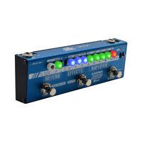 Valeton Guitar Multi Effects Pedal Dapper Amp Head Tuner Amplifier Reverb MES-6