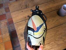 poterie terre cuite vernissée cruche pichet signé  art populaire