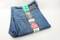 Kirkland Signature Mens Washed Blue Denim Jeans Pants Relaxed Fit Size 38x34
