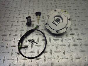 2003 03-04 Honda CBR600RR CBR 600RR Gas Fuel Cap Key Bent Cable Lock
