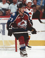 RAY BOURQUE COLORADO AVALANCHE 8 X 10 PHOTO WITH ULTRA PRO TOPLOADER