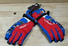 NEW LG Don Ed Hardy Men/'s Black Leather Gloves Death Before Dishonor Embroidery