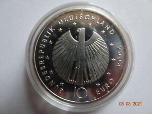 10 euro gedenkmünze 2006 Fußball WM in Kapsel