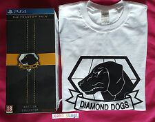 METAL GEAR SOLID V : THE PHANTOM PAIN SONY PS4  EDITION COLLECTOR NEUF + T SHIRT