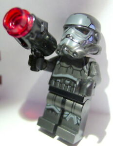 LEGO Minifigure Star Wars Imperial Shadow Trooper and Weapon