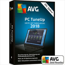 AVG PC TuneUp 2018 1 PC 2Jahre | TuneUp Utilities Vollversion/Upgrade 2017 UE DE