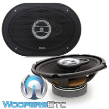 "FOCAL RCX690 6"" X 9"" 80W RMS AUDITOR 3-WAY MYLAR TWEETERS COAXIAL SPEAKERS NEW"