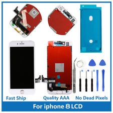 iPhone 8 Replacement 3D Touch Screen LCD Digitizer Display Assembly White & Tool