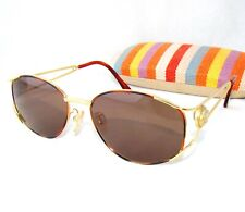 ad54809d8ea3 GIANNI VERSACE vintage G99 brown gold medusa head sunglasses small oval 798