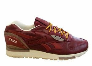Reebok Classic LX 8500 Premium Leather Mens Trainers Lace Up Running M49342