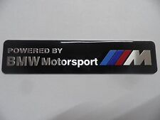 Bmw Motorsport // m power performance letras cheers Alu 3d Pegatina Sticker, Badge