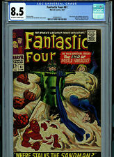 Fantastic Four #61 CGC 8.5 1967 Silver Age Marvel Comic K27