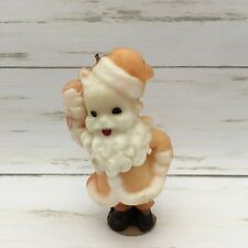Vintage Gurley Santa Claus Christmas Wax Candle Figurine