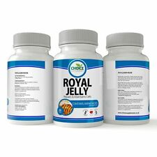 Royal Jelly 750mg Capsules Tablets Rich Vitamins Minerals UK Made Quality x 14