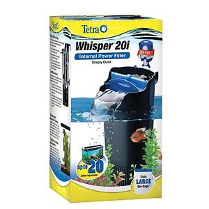 Whisper Internal Aquarium Power Filters Up to 20-Gallons