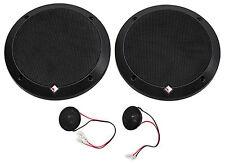 "Rockford Fosgate P1675-S Punch 6.75"" 240 Watt 2-Way Car Audio Component Speakers"