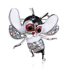 Retro Crystal Bee Animal Brooch Pin Women Lady Costum Party Jewelry Gifts New