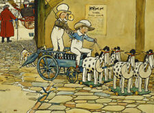 CECIL ALDIN Chips Off The Old Block; The York Stage Coach BOYS game NEW CANVAS