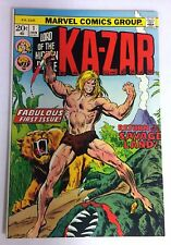 KA-ZAR #1 to 20 COMPLETE SET ~ 1973 to 1974 Marvel Comics - Zabu! High grade!