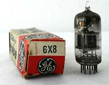 GE 6X8 Vacuum Radio Tube Tested