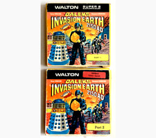 SUPER 8mm Film - DR.WHO - DALEKS INVASION EARTH 2150 AD - PARTS 1 & 2 - 2 x 200'