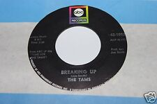 The Tams Breaking Up b/w How Bout It 45 From Co Vault Unopened Box NM *