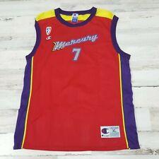 Michelle Timms #7 Phoenix Mercury Wnba Champion Jersey Size Xl