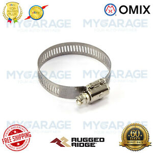Omix-ADA For Jeep / Willys Hose Clamp, Adjustable, 1-5/16 inch to 2-1/4 inch