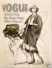 Art Nouveau/Art Deco/Vogue/Fashion/Style/ Poster/Print/1922 Magazine Cover