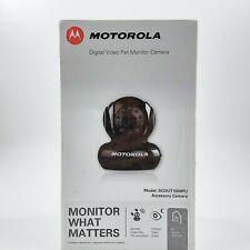 Motorola SCOUT1000PU Digital Video Pet Monitor Camera, Brand New