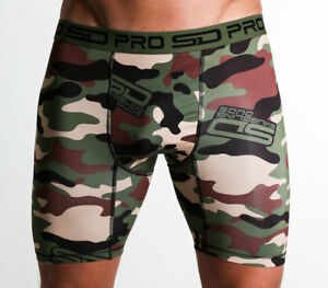 Jungle Camo Smuggling Duds SD Pro Range Compression Shorts