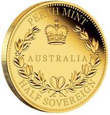Australien - 15 Dollar 2017 - Half Sovereign - 3,99 Gr. Gold Polierte Platte PP