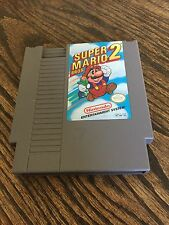 Super Mario Bros 2 Original Nintendo NES Game Cart NE1