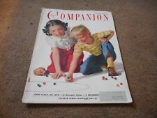 JUNE 1949 WOMANS HOME COMPANION vintage magazine MARBLES