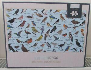 M&S BIRDS 500 PIECE JIGSAW PUZZLE BRAND NEW SEALED