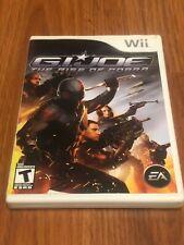G.I. Joe: The Rise of Cobra (Nintendo Wii, 2009) Complete!