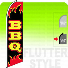BLACK YELLOW CHECKERED q Windless Swooper Flag KIT Banner Sign