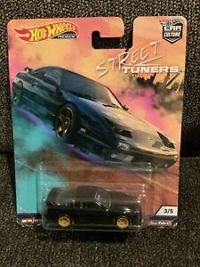Hot Wheels Car Culture '96 Nissan 180 SX Type X (Street Tuners) Damage Card