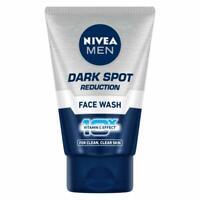 NIVEA MEN Face Wash, Dark Spot Reduction, 10X Vitamin C Effect For Clear Skin
