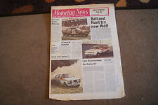Motoring News 11 January 1979 Tony Pond British Rally Review Saab Turbo Test