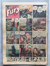 Miss Fury Newspaper Sunday Page,  June 13, 1943 Miss Fury in Catsuit