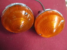Lucas L691 L692 Amber Lamp PAIR, Austin-Healey, Land Rover, Spitfire, Cobra Used