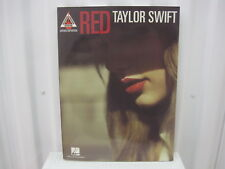 Taylor Swift Red Sheet Music Song Book Songbook Guitar Tab Tablature