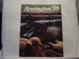 REMINGTON FIREARMS 1989 catalog