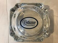 Bahamas Princess Resort And Casino Vintage Glass Ashtray