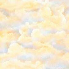 Wilmington A Change of Scenery FLANNEL 63005-154 Sky Texture Dawn Cotton Fabric