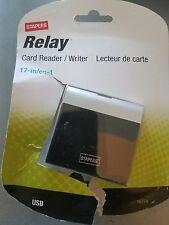 Staples Relay Card Reader/Writer, New -
