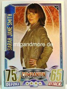 #016 Sarah Jane Smith - Rainbow Foil - Alien Attax Doctor Who