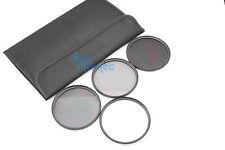 Neu 77mm ND2+ND4+ND8 + UV Filter ND Kit Set mit ETUI für DSLR Kamera Objektiv