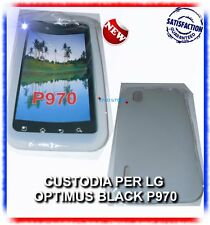 Custodia Silicone Bianca per LG OPTIMUS BLACK P970